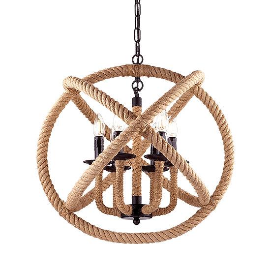 Suspension LED 'CORDA' 6 xE14 Ampoules Non Fourni