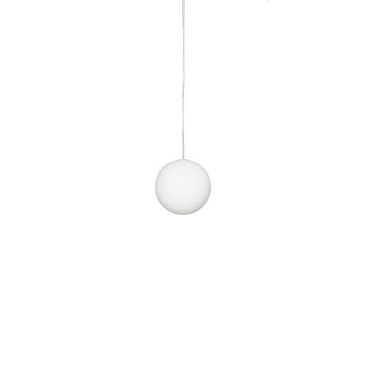 Suspension LED En Verre 'Sinceny'S 160 mmBlanc 1 x E14 Sans Ampoule