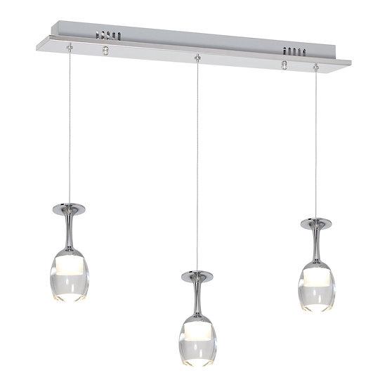Suspension LED 'Douvrend' 15W 1050LmMétal_Acrylique