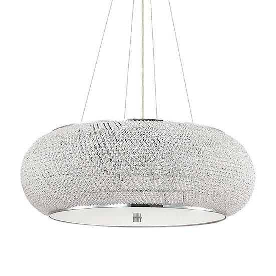 Suspension LED 'Flers' 14 xE14 Ampoules Non Fourni
