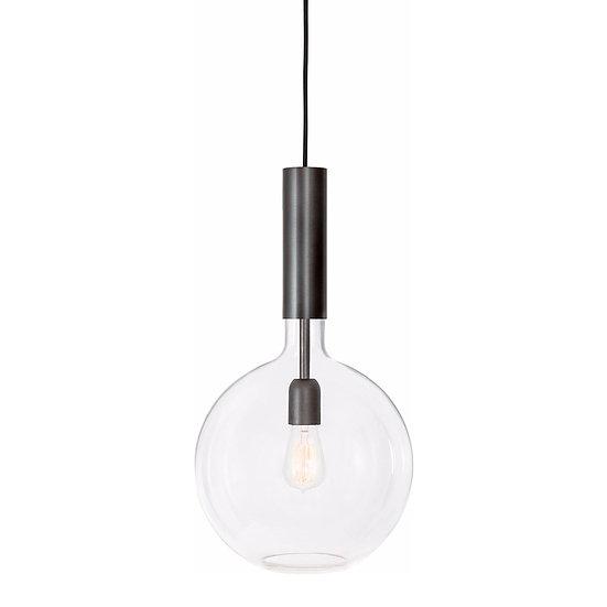 Suspension LED 'Frencq'Noir 1 x E27