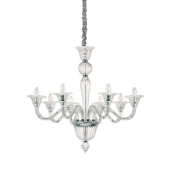 Suspension LED 'BRIGITTA' 8 xE14 Ampoules Non Fourni