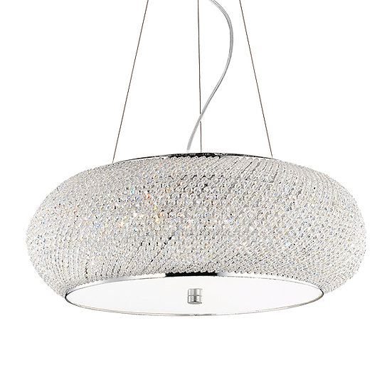 Suspension LED 'Flers' 10 xE14 Ampoules Non Fourni
