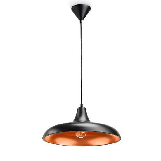 Suspension LED 'Cox'Noir 1 x E27