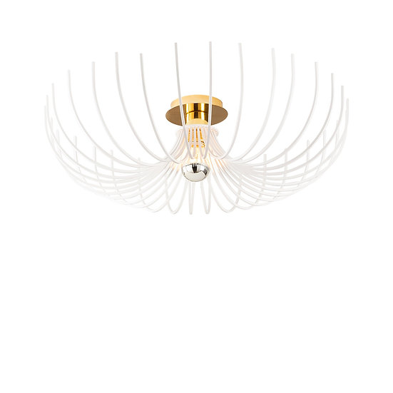 Suspension LED 'Estialescq'Blanc 1 x E27