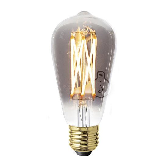Ampoule LED E27 'Grand-Rozoy' Enfumé Blanc Chaud Dimmable