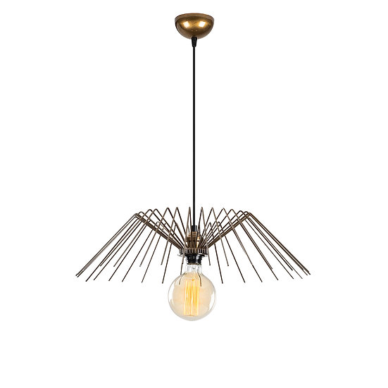 Suspension LED 'Burgaronne'Or 1 x E27