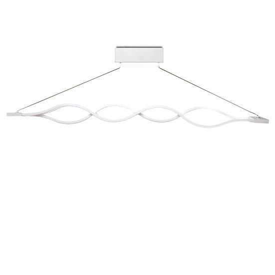 Suspension LED 'Cézac' Wave 2 X 24W 3840Lm