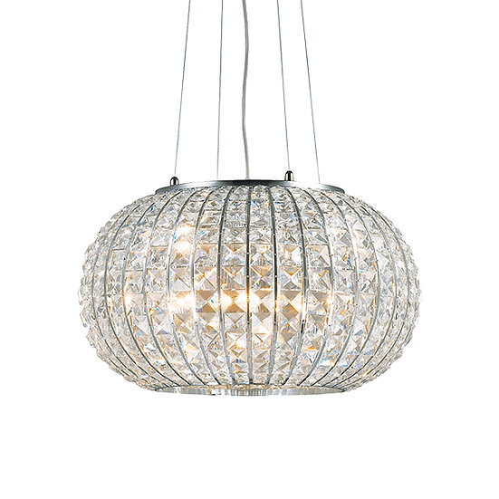 Suspension LED 'CALYPSO' 3 xE27 Ampoules Non Fourni