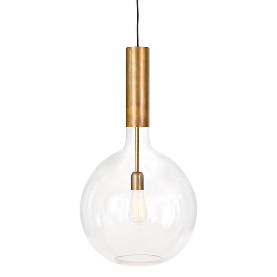 Suspension LED 'Ergny'Laiton 1 x E27