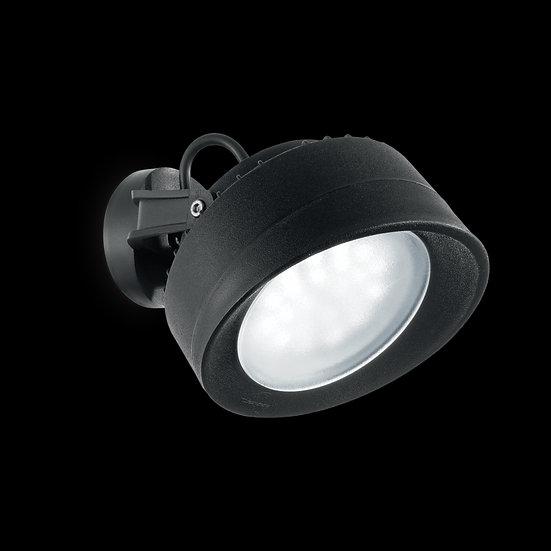 Applique Murale LED 'Fumagalli Tommy'Noir 1x GX53 IP66 Avec Ampoule