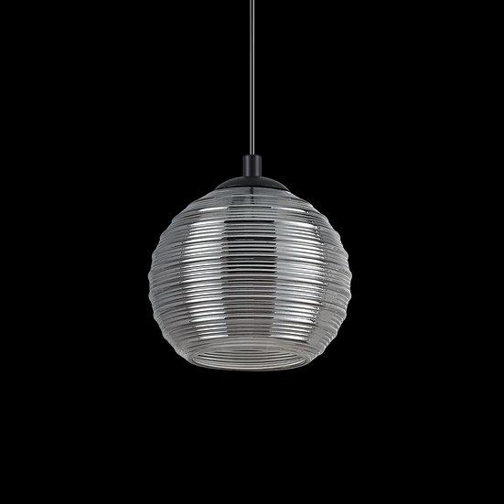 Suspension LED 'Drée' Fumé 1 xE27