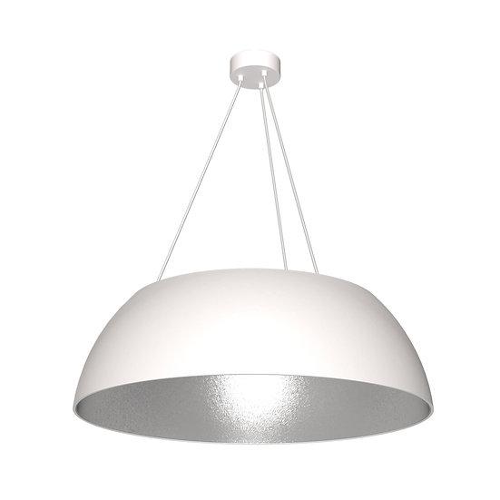 Suspension LED 'GournayenBray' 3 xE27 Compósito +Métal Sans Ampoule