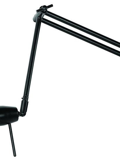 Applique LED 'L'étaux' 'Louye' 37cm/50-80cmAbat Jour Ø15x9cm Maté