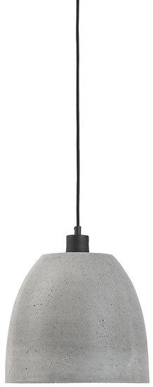 Suspension LED Ciment 'Le Rozel' 'Lolif'/Abat Jour Rond Ø28x24cm Ciment . M