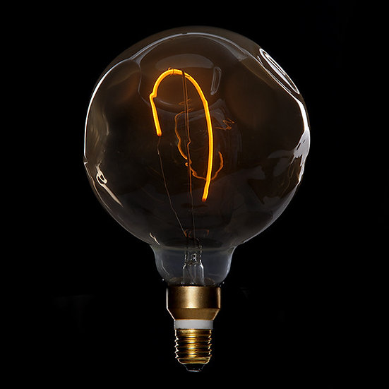 Ampoule LED Dimmable 'Montroty' Vintage G125 4W E27