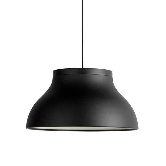 Suspension LED 'Faverolles M' Pierre Charpin Aluminium AnodiséNoir Suave 3 xE27