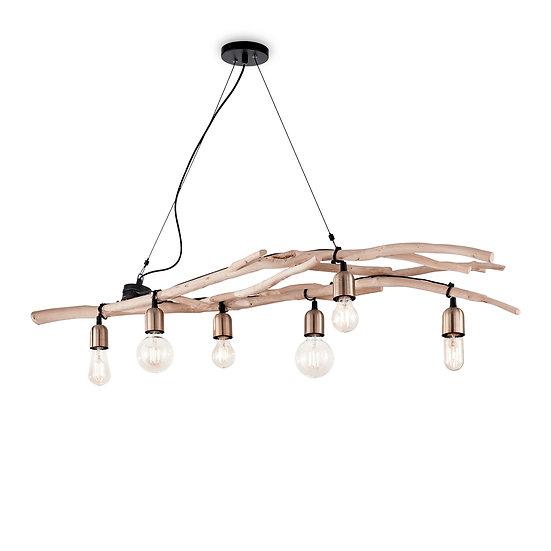 Suspension LED 'DRIFTWOOD' 6 xE27 Ampoules Non Fourni