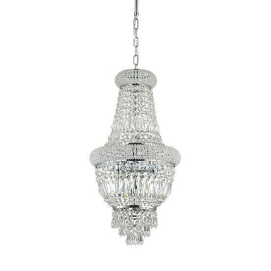 Suspension LED 'DUBAI' 5 xE14 Ampoules Non Fourni