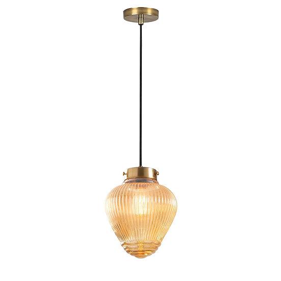 Suspension LED 'Estos'Noir 1 x E27