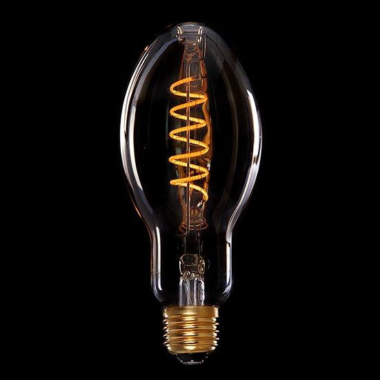 Ampoule Vintage LED Dimmable Br75 'Bellebat' Vortice 4W E27 Verre Ambré