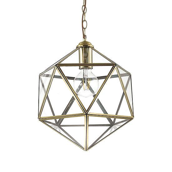 Suspension LED 'DECA' 1 xE27 Ampoules Non Fourni