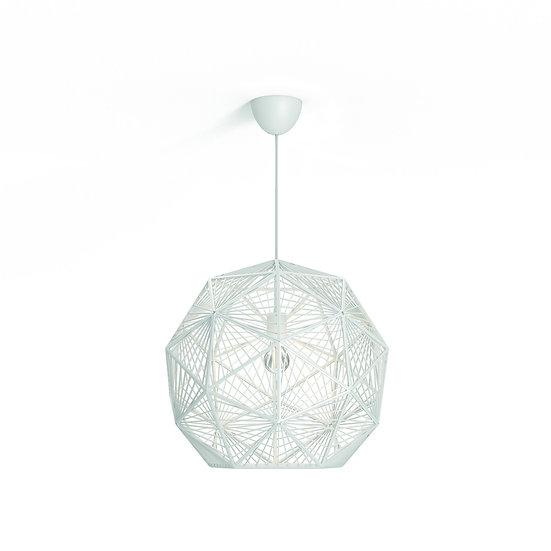 Suspension LED 'Eaunes'Blanc 1 x E27