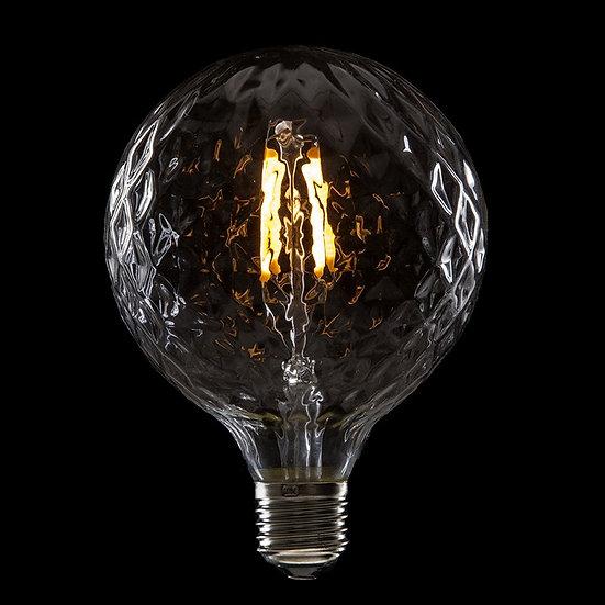 Ampoule LED 'Neufmoulin' Filament Vintage G95 4W xE27 400Lm