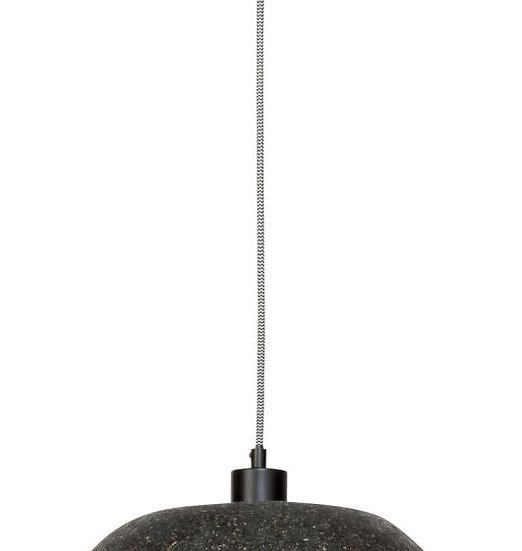 Suspension LED 'Gommerville' Les Copeaux De Bois/Rond Ø36.5cmx24cm