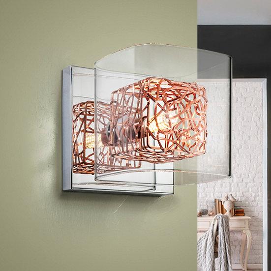 Applique LED 'Auzouville-sur-Saâne' 1x G9 Avec Ampoule Blanc Chaud