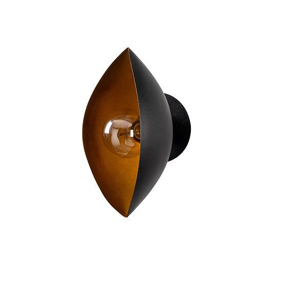 Applique Murale LED 'Alette 07'Noir 1 xE27