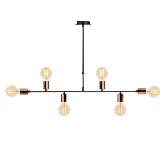 Suspension LED 'Halsou 03' Cuivre 1 x E27