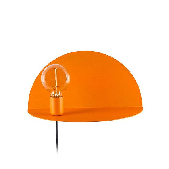 Applique Murale LED 'Auchel 510'Orange 1 xE27