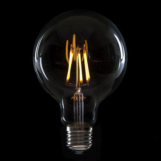 Ampoule LED 'Neslette' Filament Vintage G95 6W xE27 600Lm