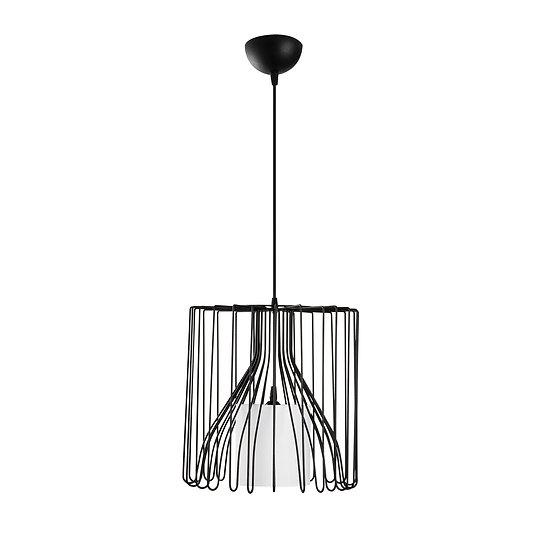 Suspension LED 'Hectomare04' Noir/Blanc Neutre 1 x E27