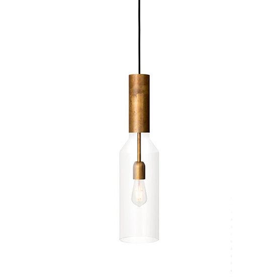 Suspension LED 'Gavrelle' Transparent 1 x E27