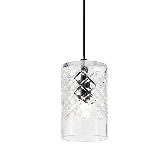 Suspension LED 'COGNAC' 1 xG9 Ampoules Non Fourni