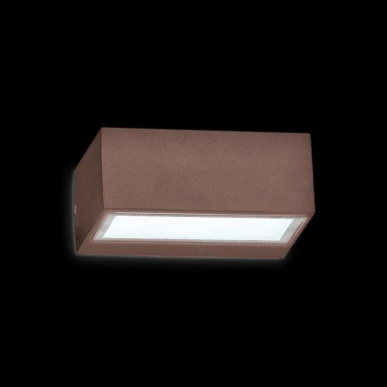 Applique Murale LED 'Avelanges' Café 1x G9 IP44 Sans Ampoule