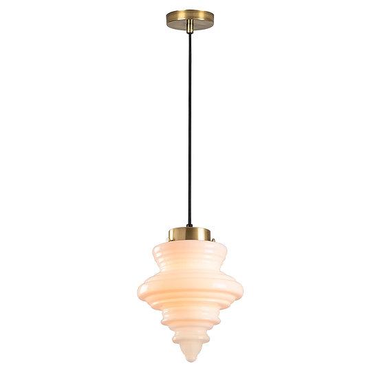 Suspension LED 'Gurmençon'Noir 1 x E27