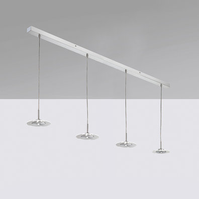 Suspension LED 'Chambain' Dimmable 25.2W 3200Lm IP20