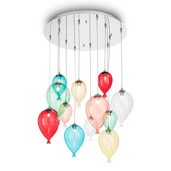 Suspension LED 'Francheville' 12 xG9 Ampoules Fourni