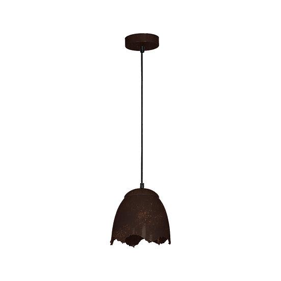 Suspension LED 'Graval' 1 xE27 Métal Sans Ampoule
