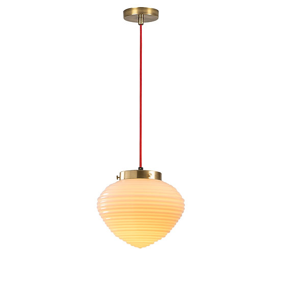 Suspension LED 'Guiche'Rouge 1 x E27