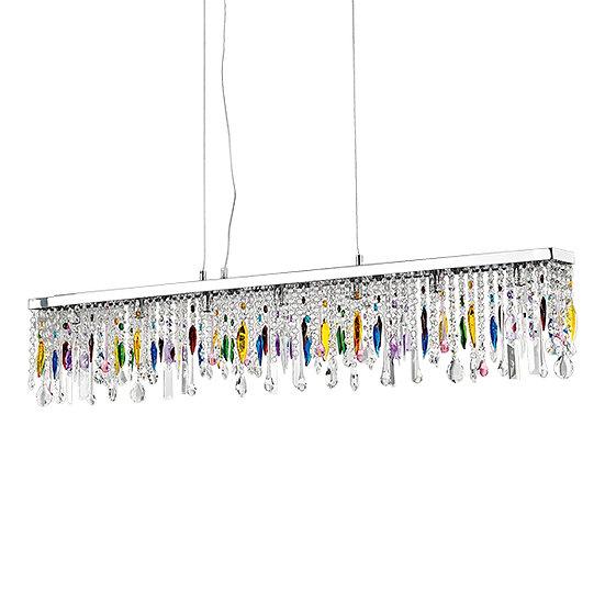Suspension LED 'GIADA' COLOR 7 xG9 Ampoules Fourni