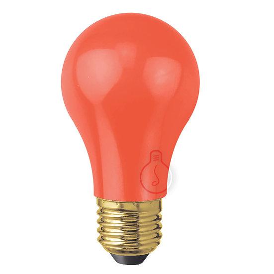 Ampoule LED E27 'Le Catelet' Plastique Blanc Chaud