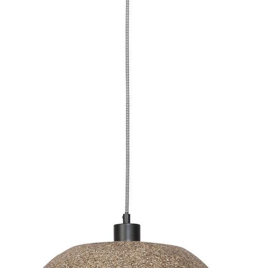 Suspension LED 'Gommerville' Les Copeaux De Bois/Rond Ø35cmx24cm