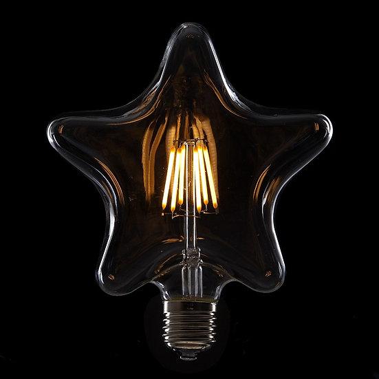 Ampoule LED 'Nurlu' Filament Vintage 'Star' 6W xE27 600Lm