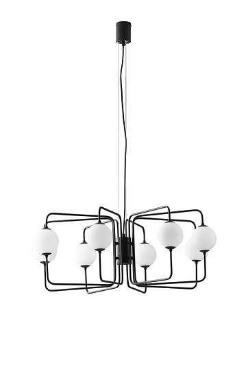 Suspension LED 'Farbus' 8x G9 Sans Ampoule