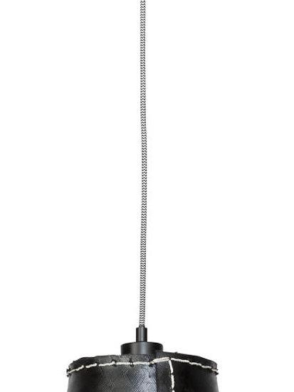 Suspension LED 'Grandcourt' Pneu Recyclé/1 Abat Jour 26xØ26cm L