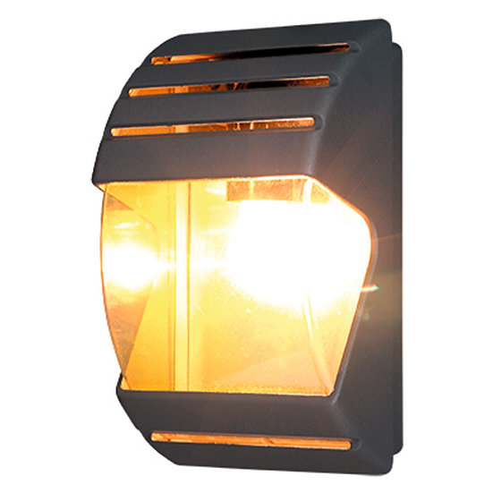 Applique Murale LED 'Buziet' 1 xE27 IP44 Sans Ampoule